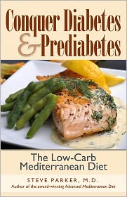 Nook Book Conquer Diabetes and Prediabetes - The Mediterranean Diet