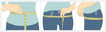 How to measure waist-to-hip ratio
