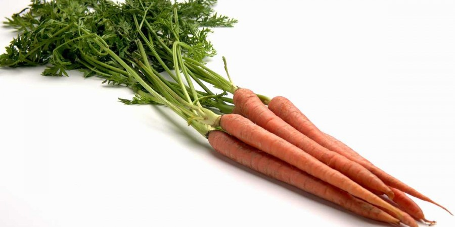 whole carrots - recommended servings of vegetables