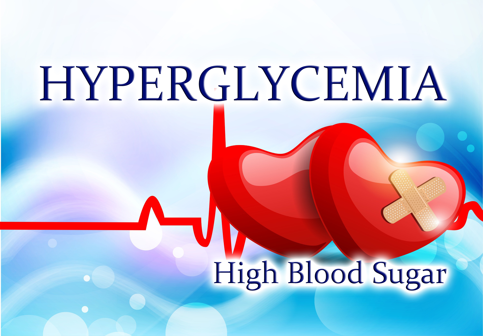 High blood sugar can cause serious complications over time like blindness, nerve, and organ damage.