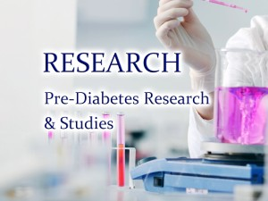 New developments in understanding and treating pre-diabetes.