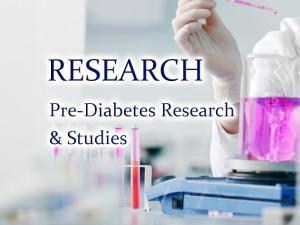 New developments in understanding and treating pre-diabetes.