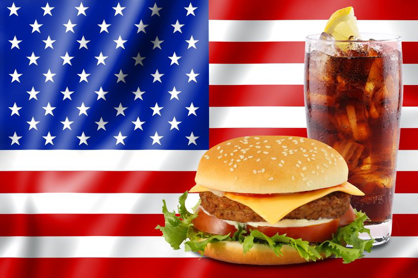 The typical American diet consists of too few healthy foods.