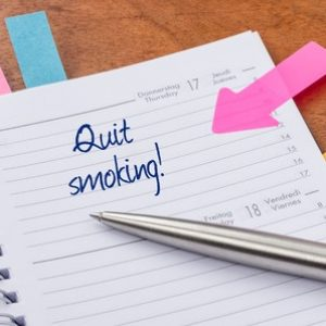 What methods do most people use to quit smoking?
