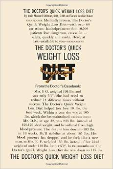 The Doctors Quick Weight Loss Diet Book Review - Dr. Stillman