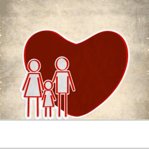 Family with Medical Heart