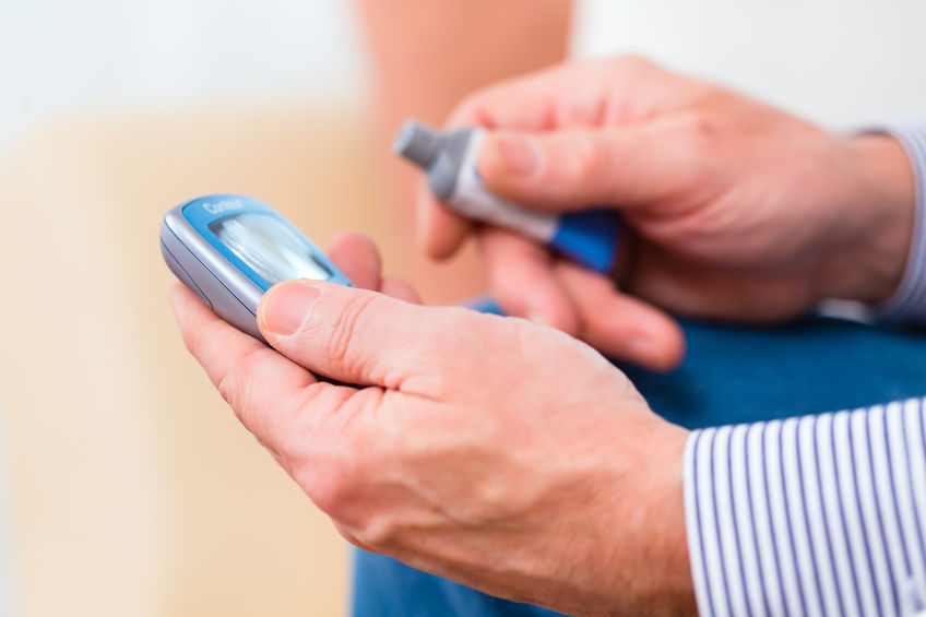 Diabetes Prevention Checking Glucose